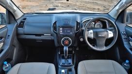 Isuzu MU-X 2017 4x4 Interior
