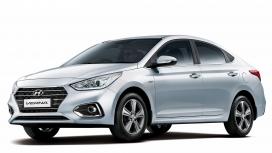 Hyundai 4s Fluidic Verna 2017 1.6 petrol Std Exterior