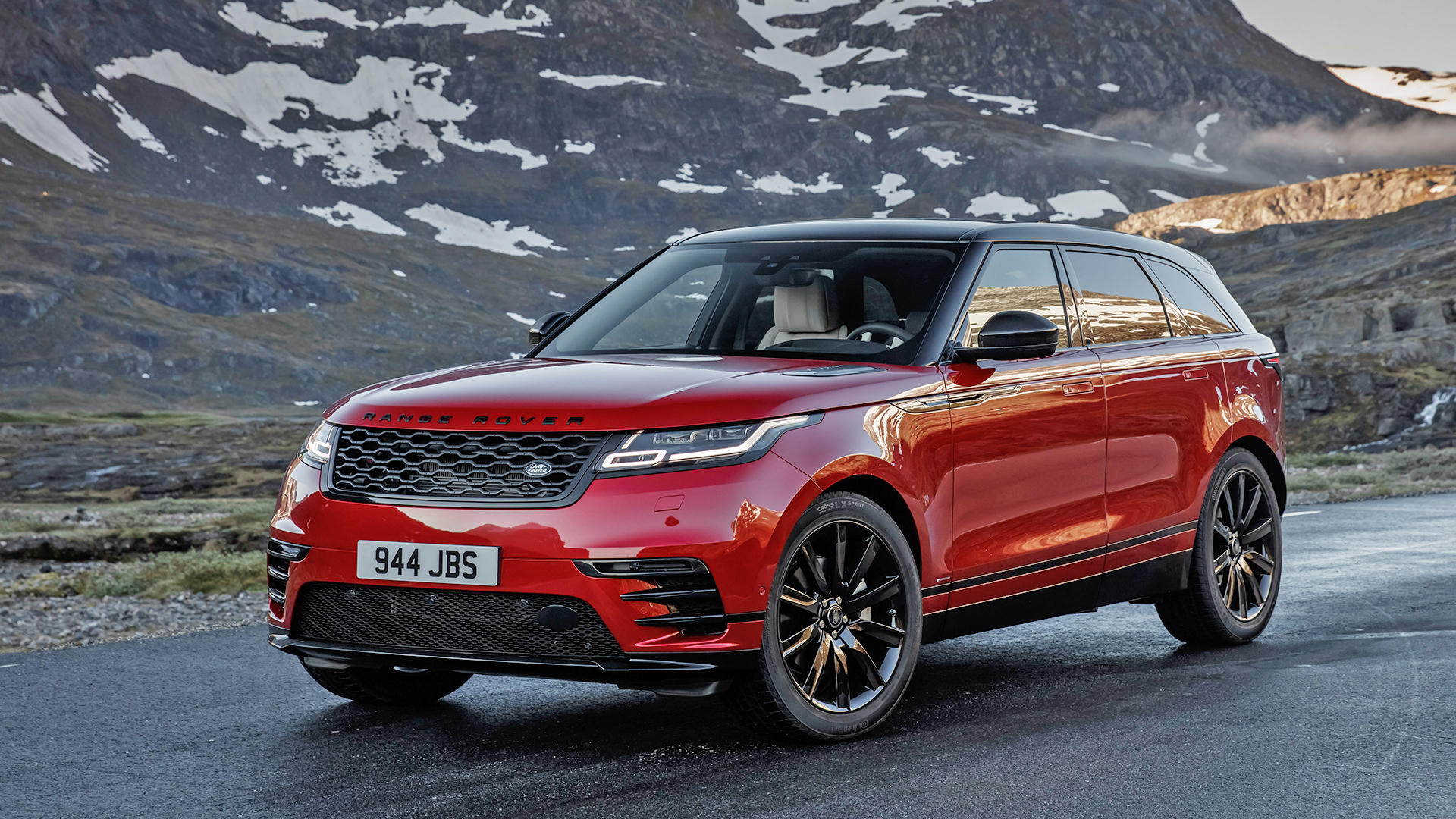 land rover velar 2017 exterior car photos overdrive. Black Bedroom Furniture Sets. Home Design Ideas