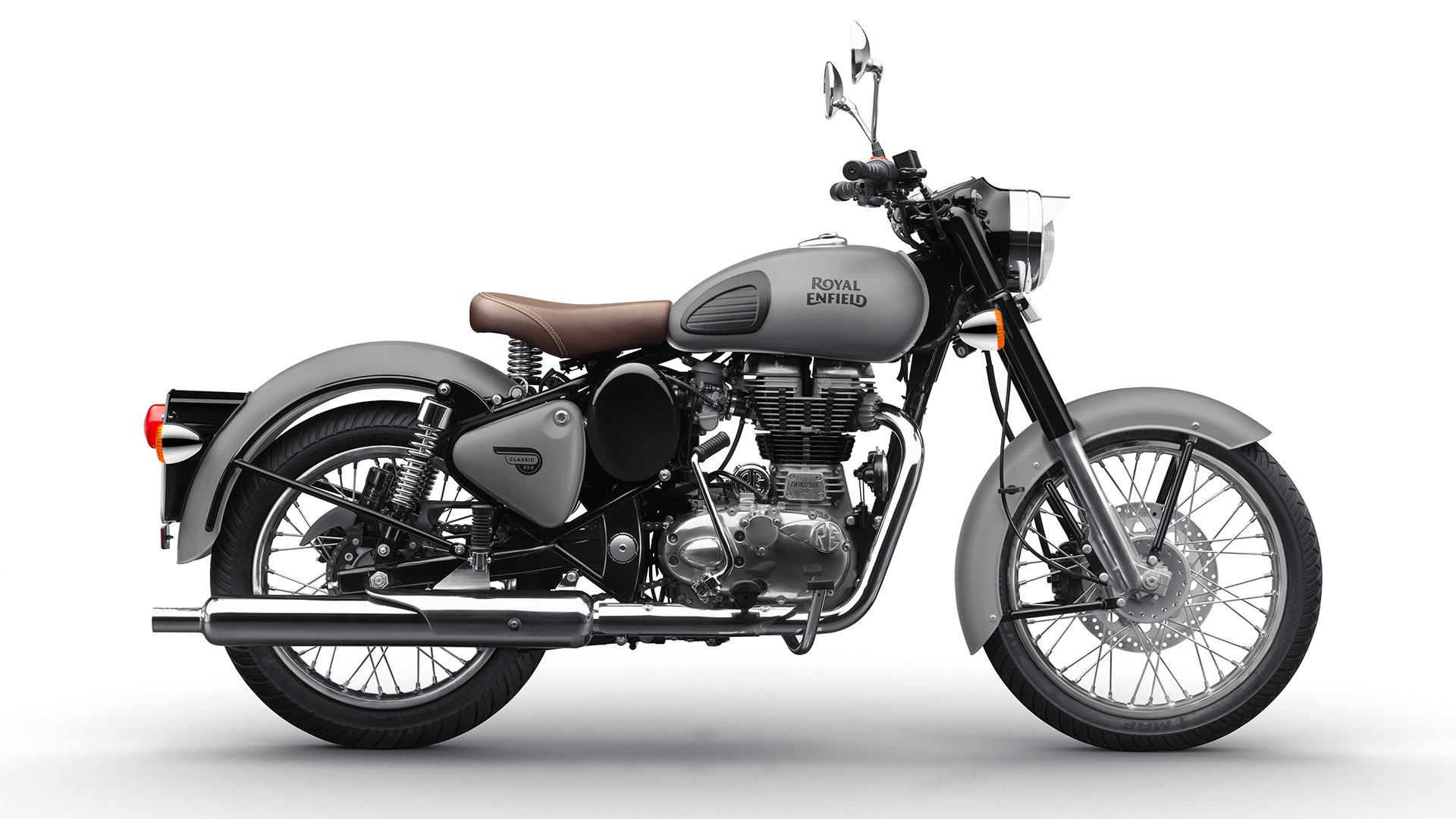 Royal Enfield Classic 350 2017 Gunmetal Grey Bike Photos