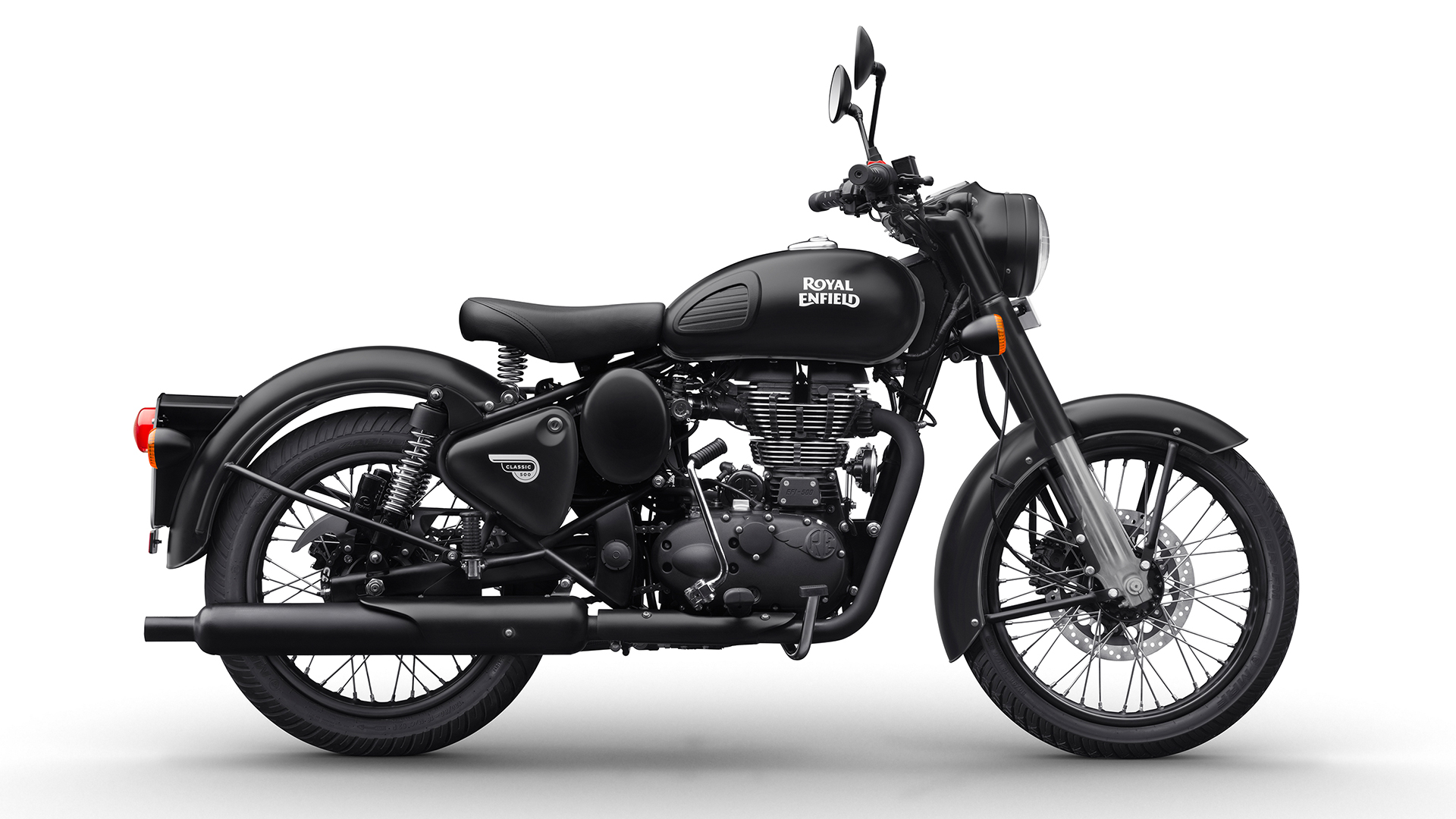Royal Enfield Classic 500 2017 Stealth Black