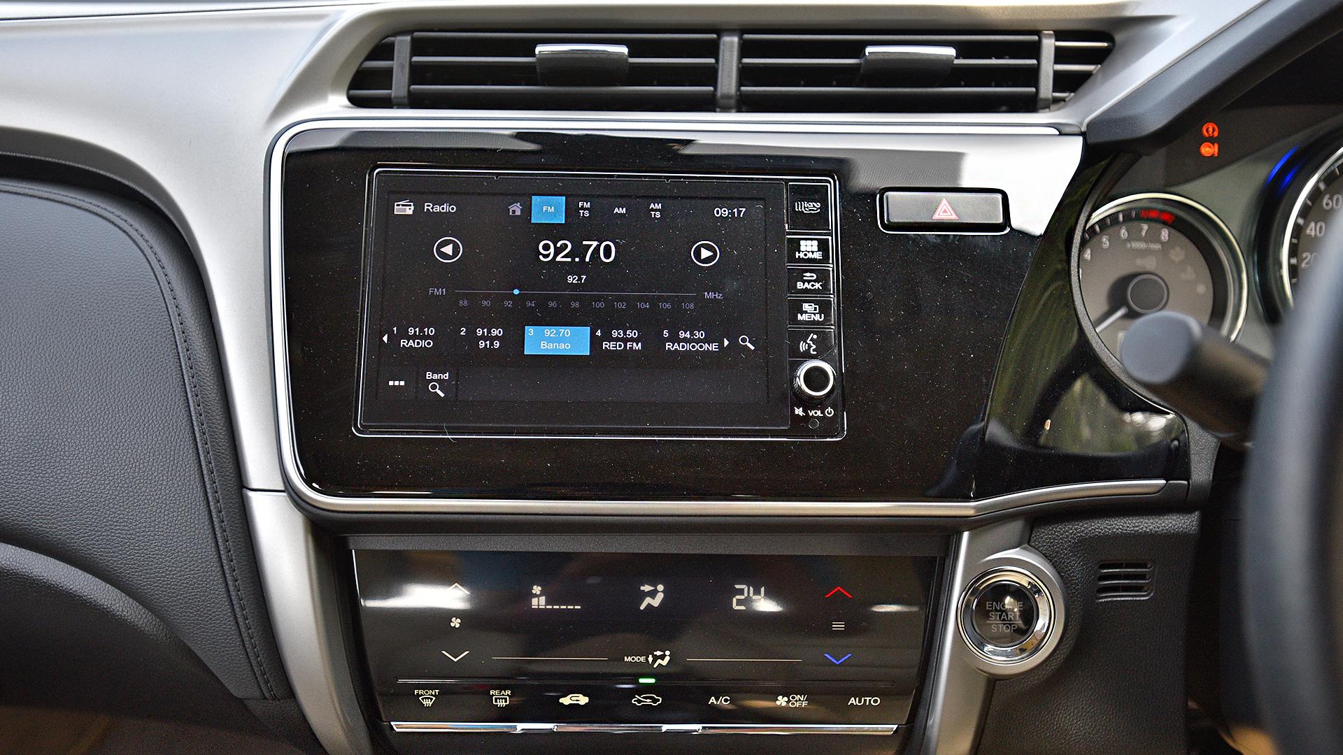 Honda City 2017 Petrol ZX CVT Interior Car Photos - Overdrive
