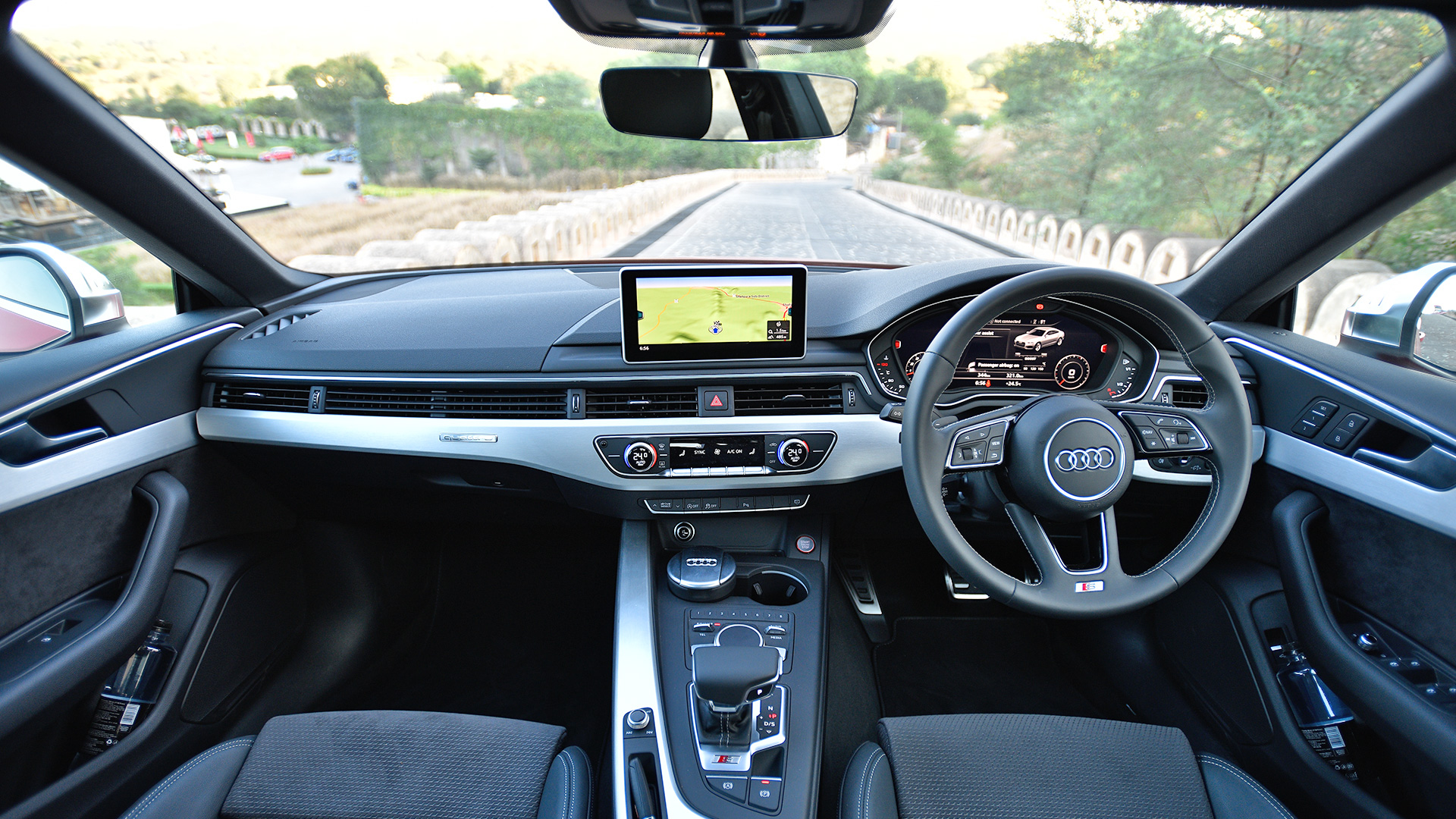Audi S5 sportback 2017 STD Interior Car Photos - Overdrive