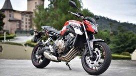Honda CB650F 2017