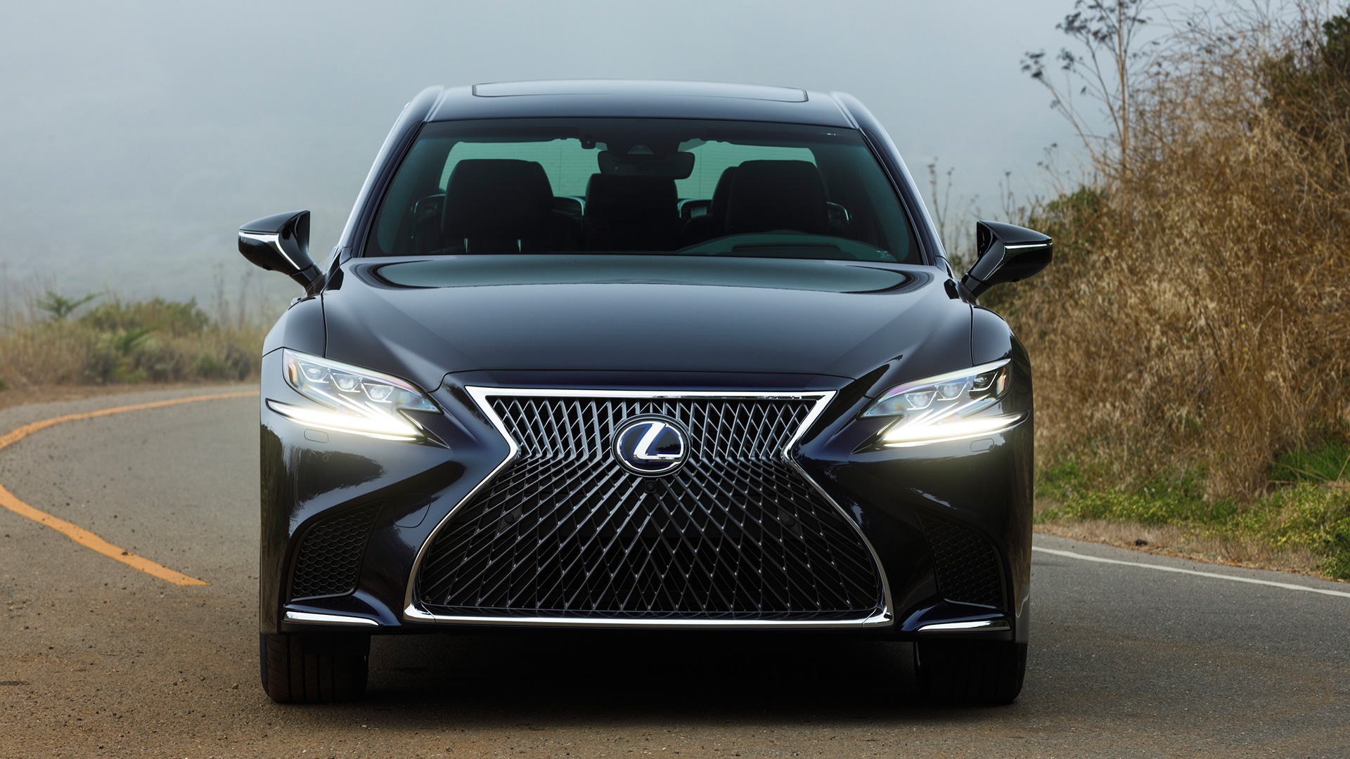 lexus ls 500h 2018 price mileage reviews specification gallery overdrive. Black Bedroom Furniture Sets. Home Design Ideas