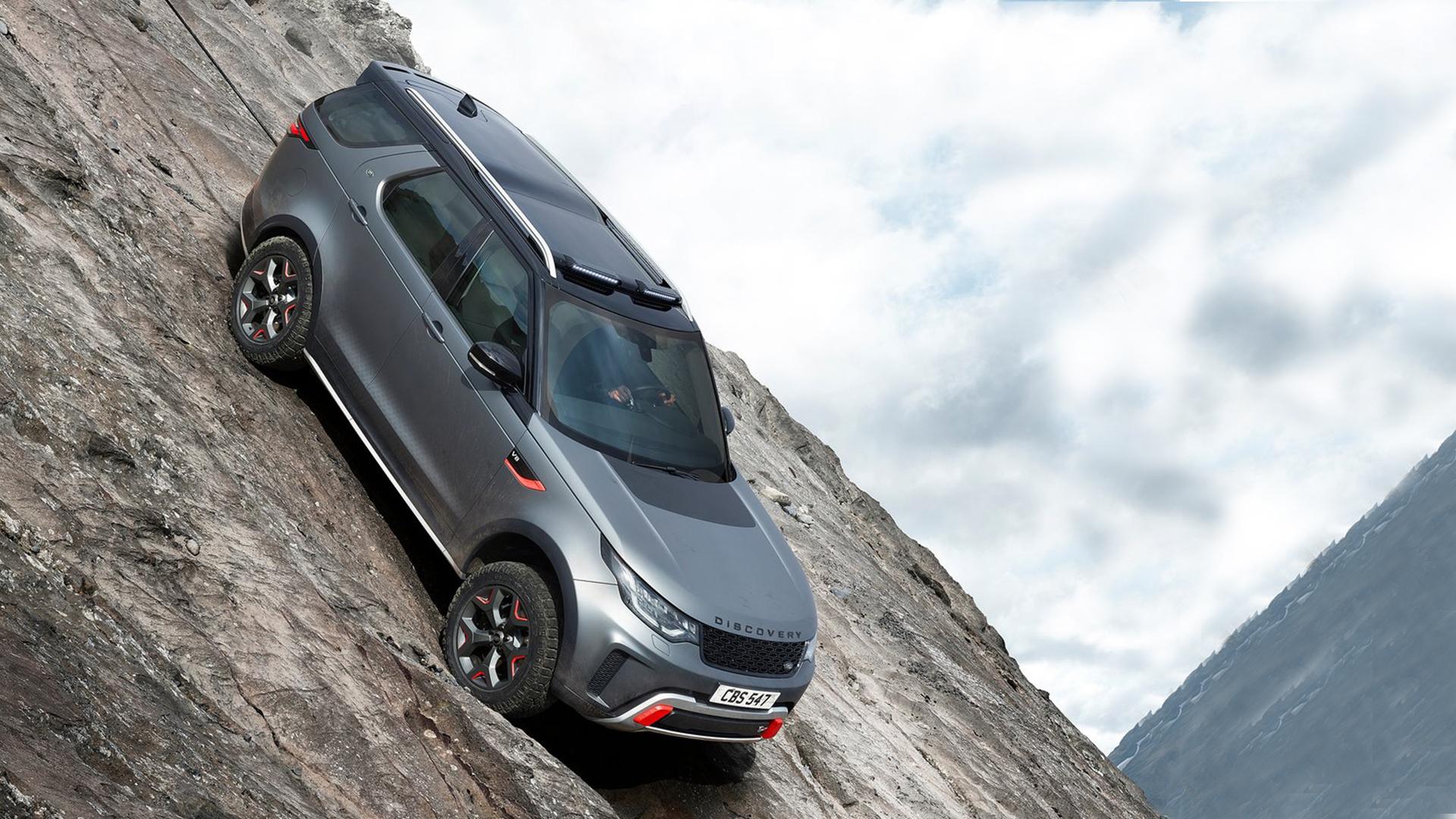 Land Rover Discovery 2018 Svx Exterior Car Photos Overdrive