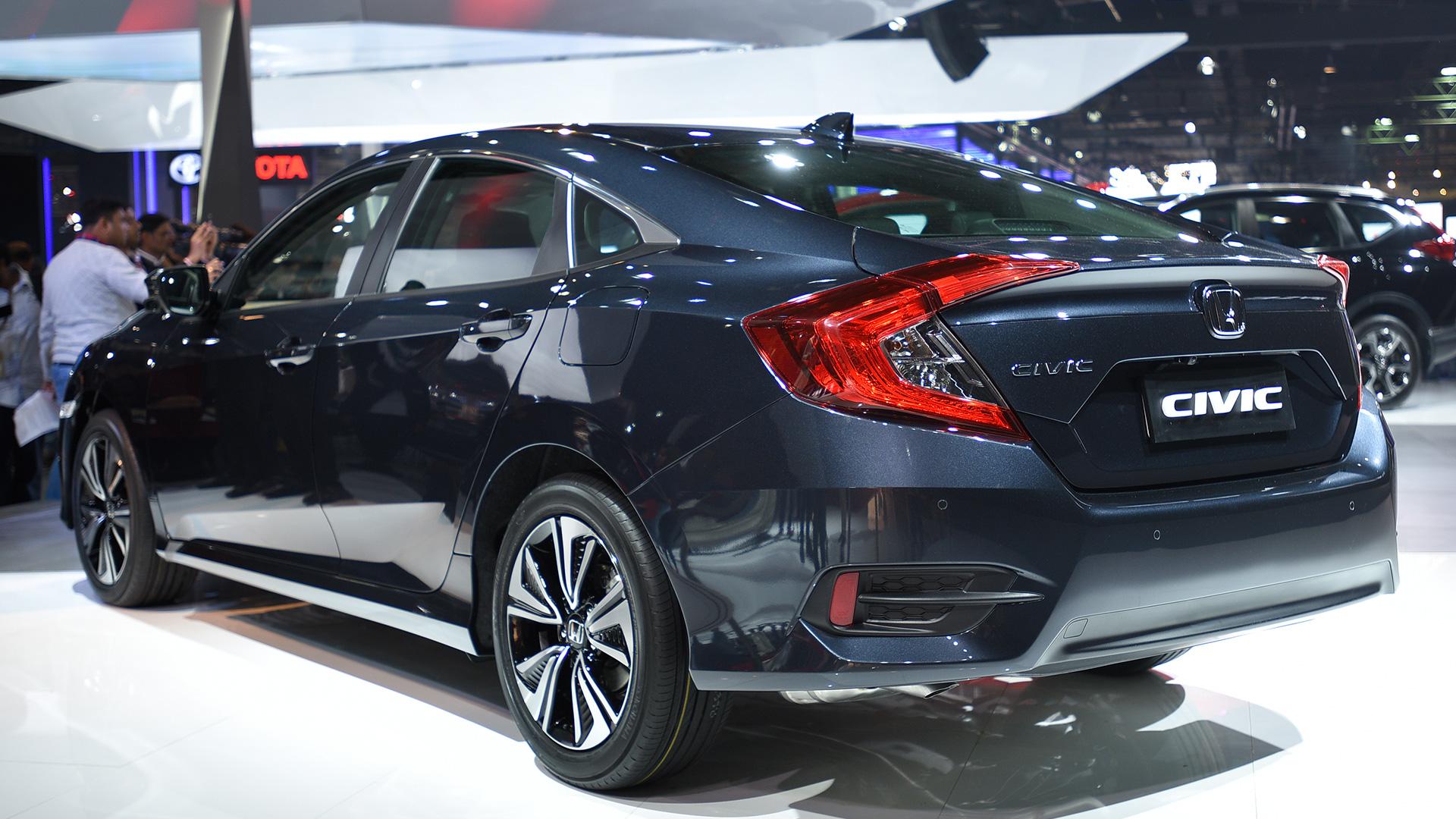 Honda Civic Tourer 2018 >> Honda Civic 2018 STD Exterior Car Photos - Overdrive