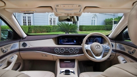 Mercedesbenz S class 2018 S350d Interior
