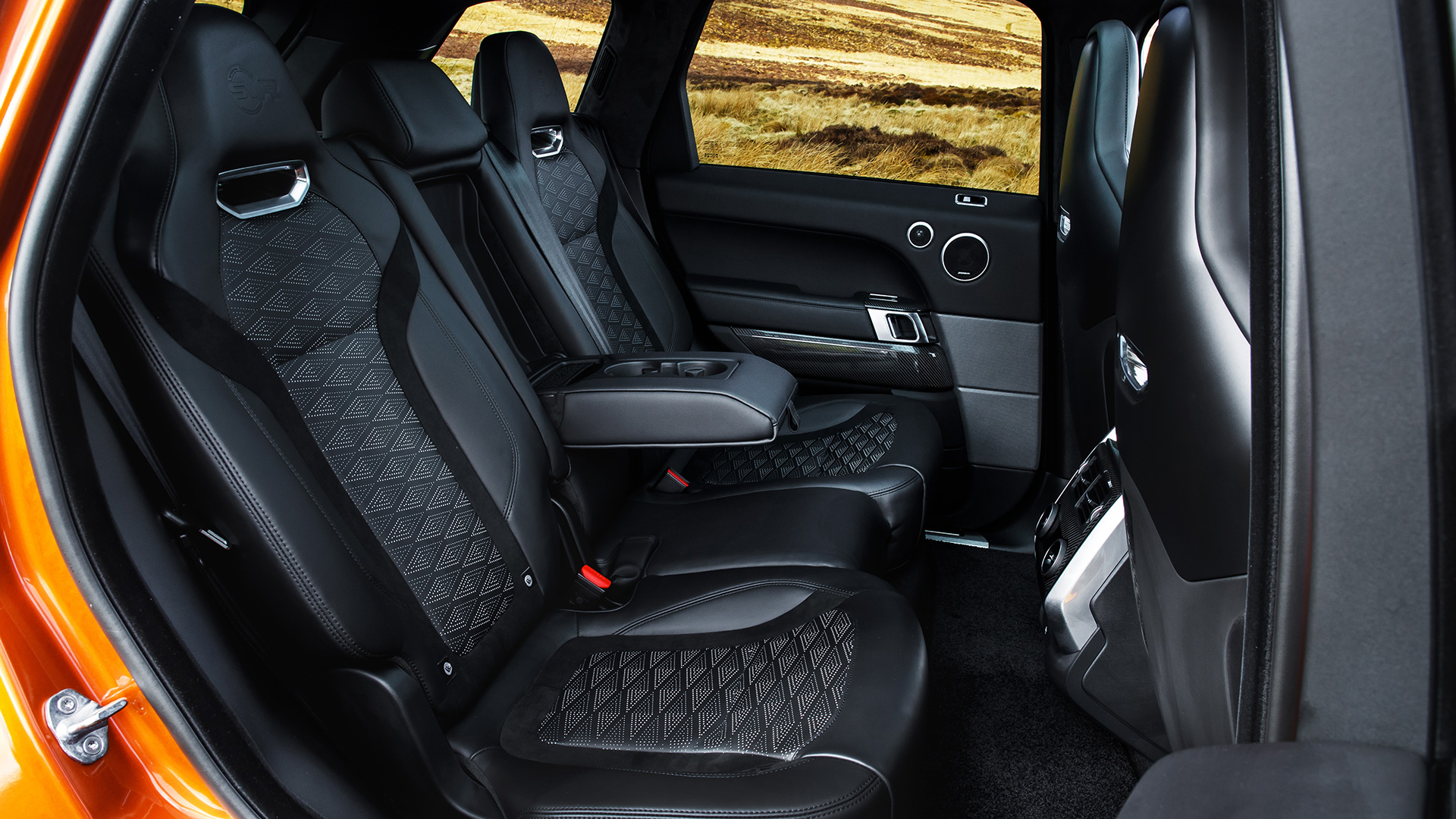 Land Rover Range Sport 2018 Svr Interior Car Photos Overdrive Seating Space