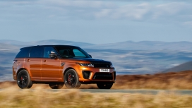 Land Rover Range Rover Sport 2018 SVR Exterior