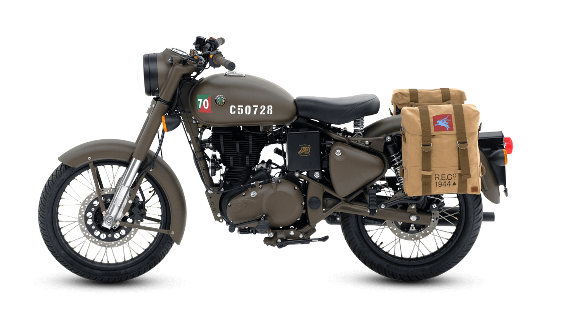 Royal Enfield Classic 500 2013 Battle Green Price Mileage