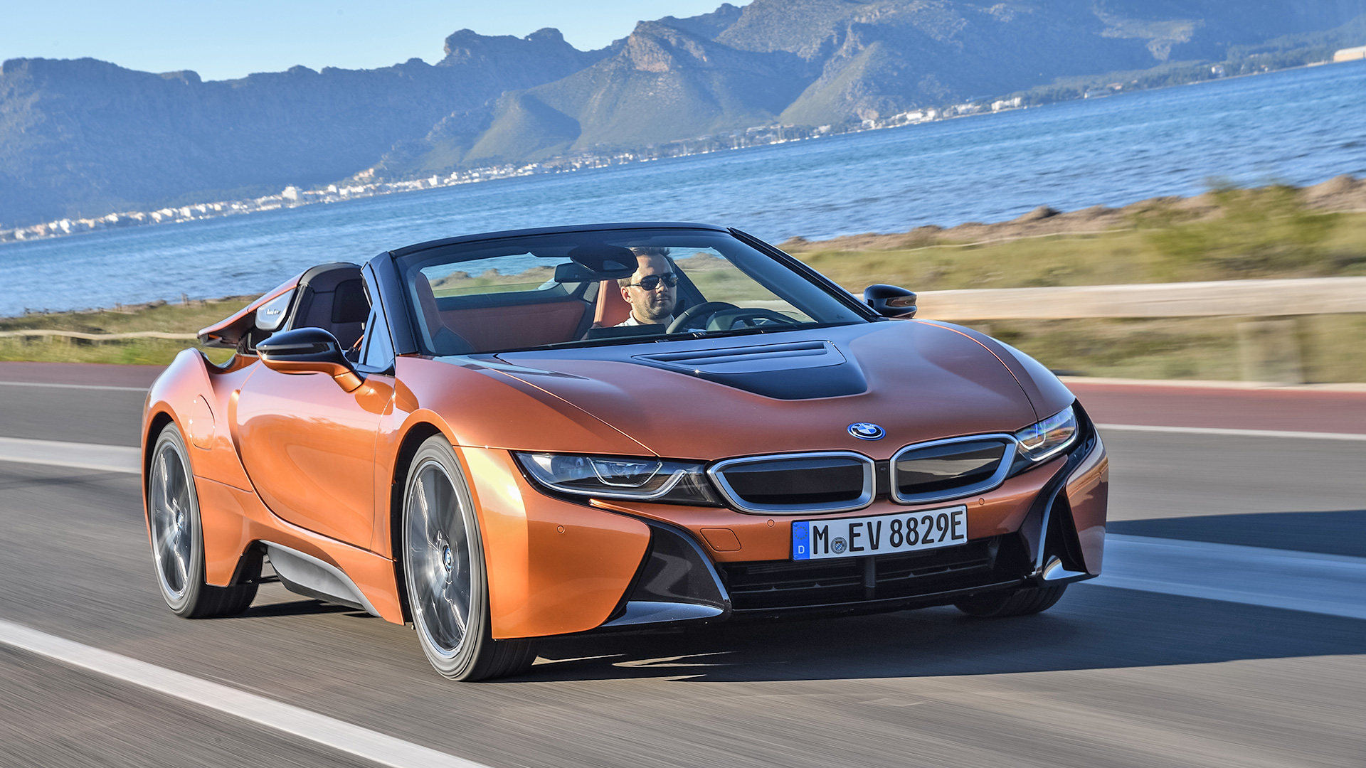 Bmw Exterior: BMW I8 2018 Roadster Exterior Car Photos