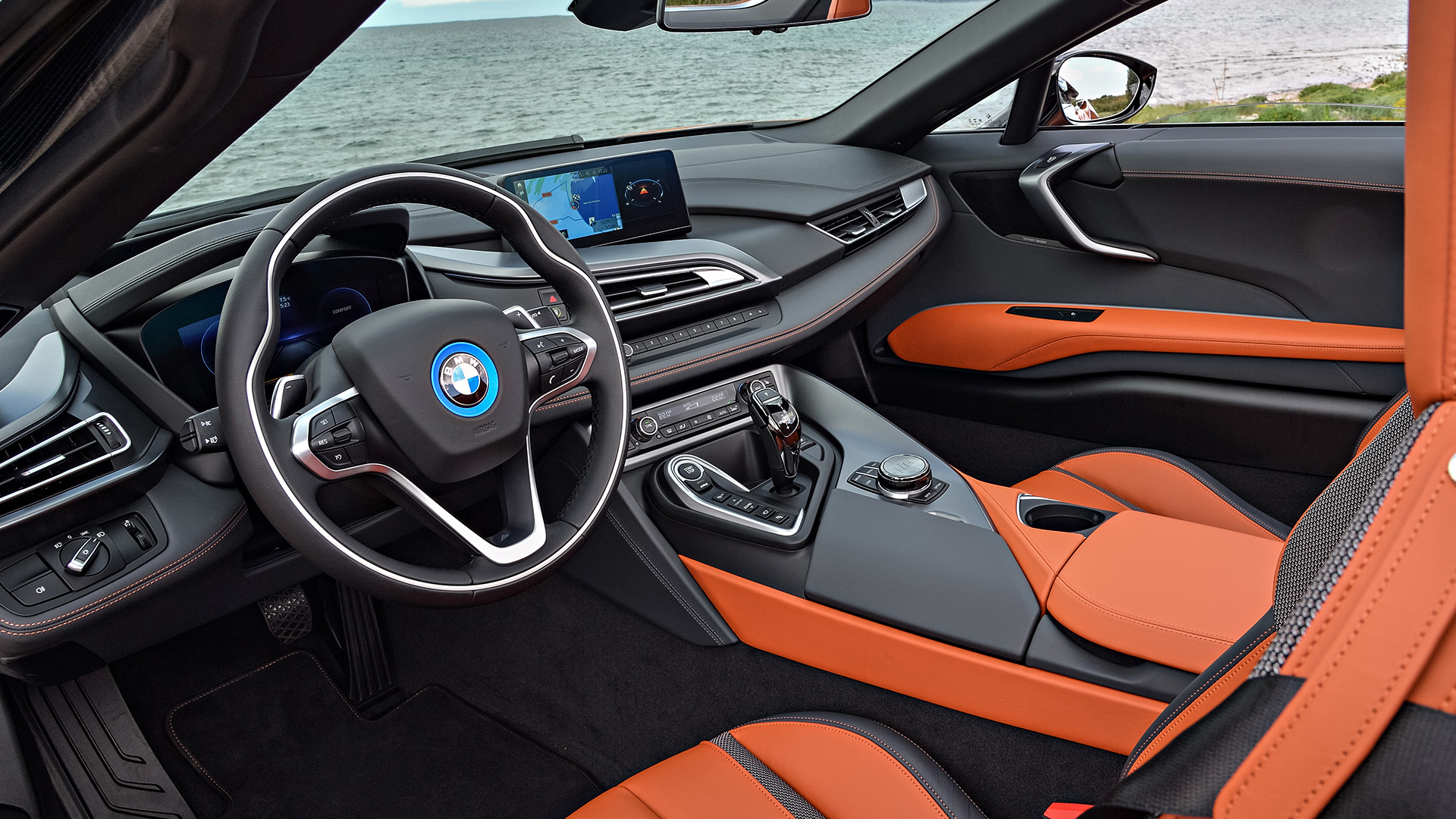 BMW i8 2018 Roadster Interior Car s Overdrive