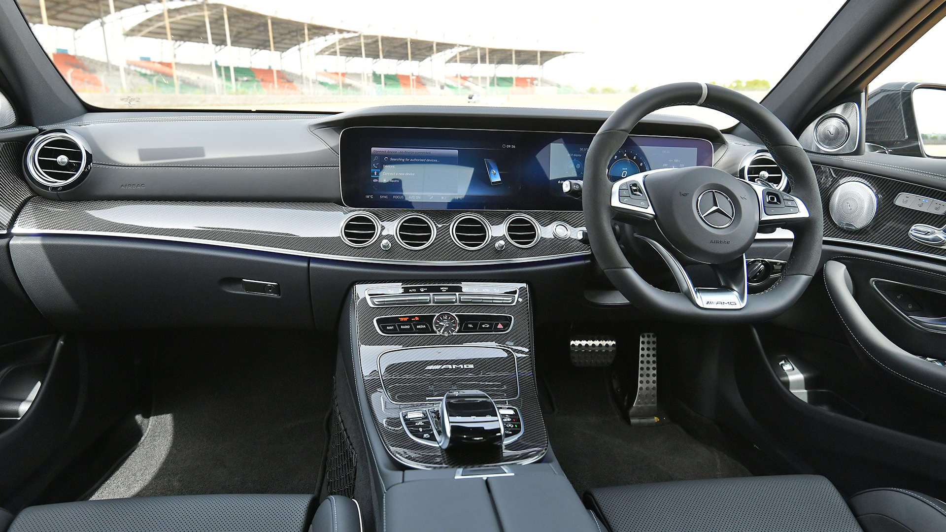 Mercedes benz E63 AMG 2018 S Interior Car s Overdrive