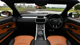 Land Rover Range Rover Evoque Convertible-2018-HSE Dynamic Petrol Interior