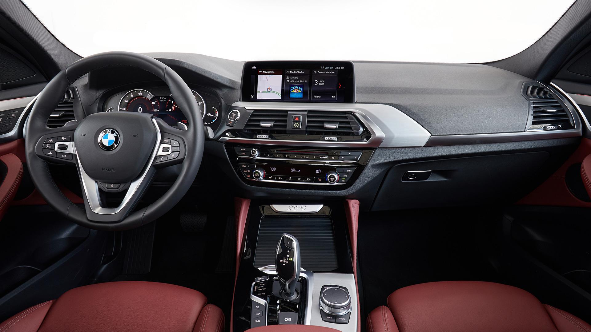 BMW X4 2018 STD Interior