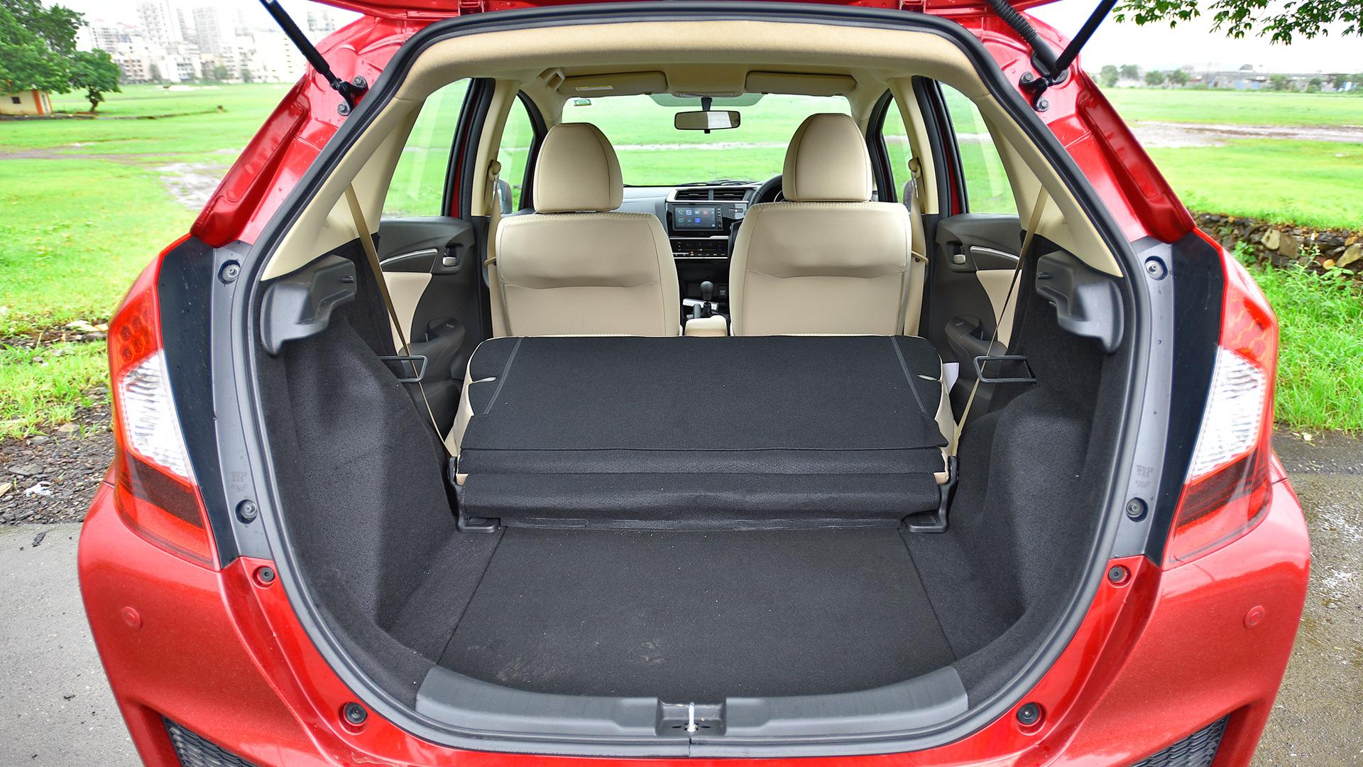 honda jazz 2018 petrol vx interior car photos overdrive. Black Bedroom Furniture Sets. Home Design Ideas