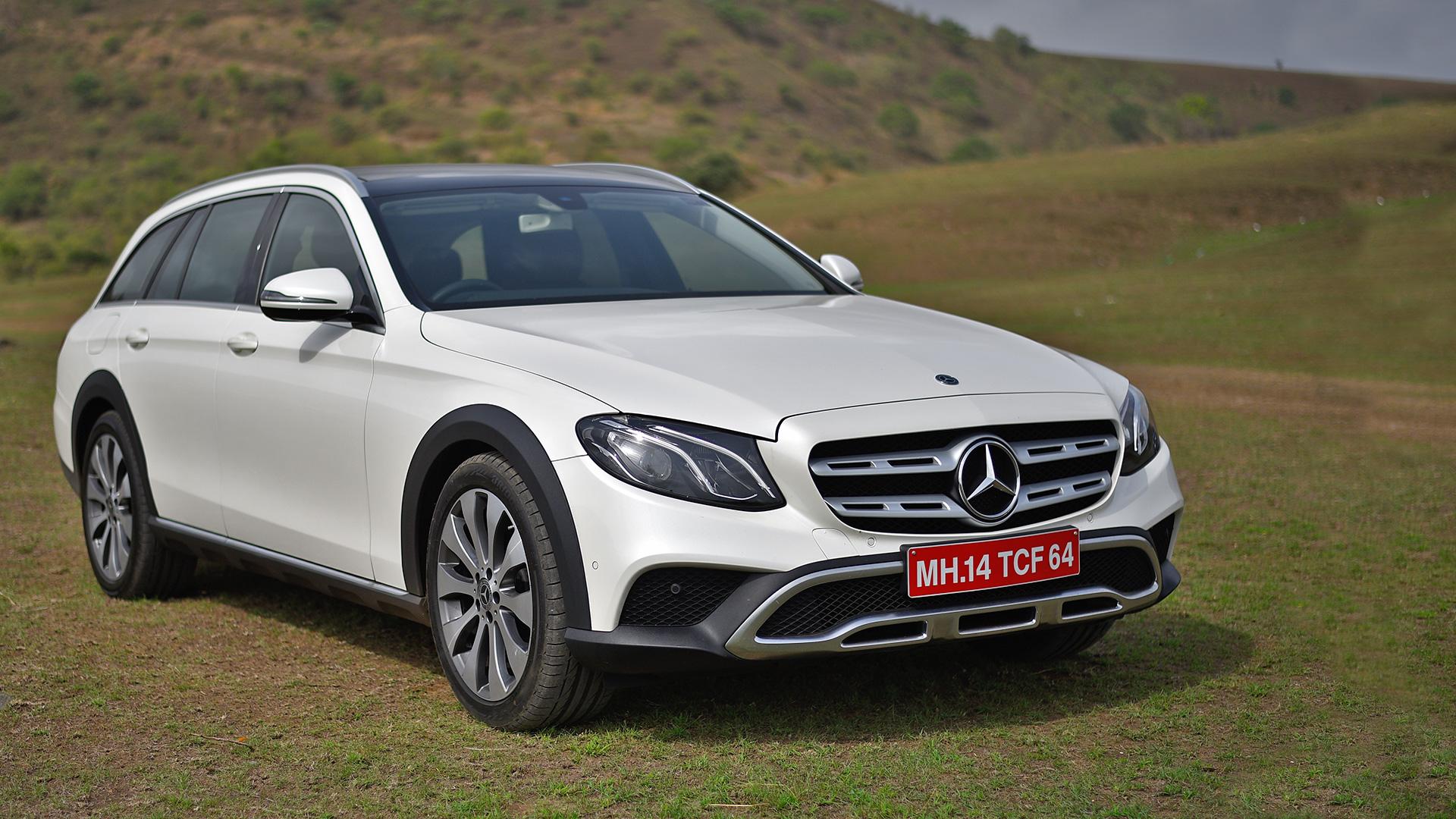 Mercedes Benz E class All Terrain 2018 E 220d Exterior Car s