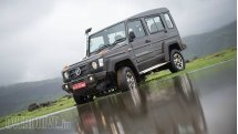 2017 Force Gurkha Xplorer first drive review
