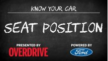 OD & Ford presents: Know Your Car - Seat position
