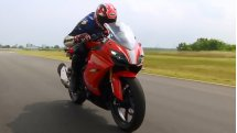 2017 TVS Apache RR 310 | First ride