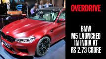 BMW M5 launched in India at Rs 1.44 crore