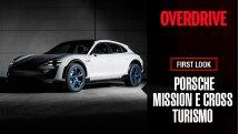 Porsche Mission E Cross Turismo at Geneva Motor Show