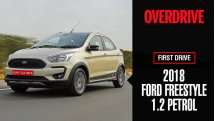 2018 Ford Freestyle 1.2 petrol first drive review