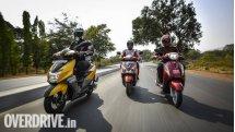 Comparison: Honda Grazia vs Suzuki Access 125 vs TVS NTorq 125