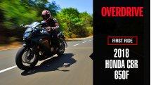 2018 Honda CBR650F road test review
