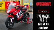 Lap Ride: Race-spec TVS Apache RR 310