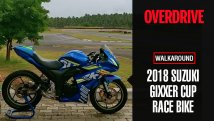 2018 Suzuki Gixxer Cup race bike