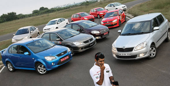 The Rs 10 lakh track test