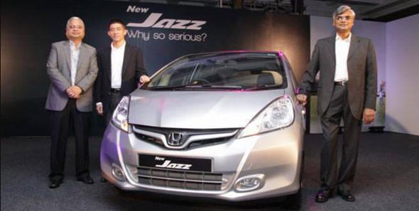 Honda launches new Jazz. Shocking prices!!