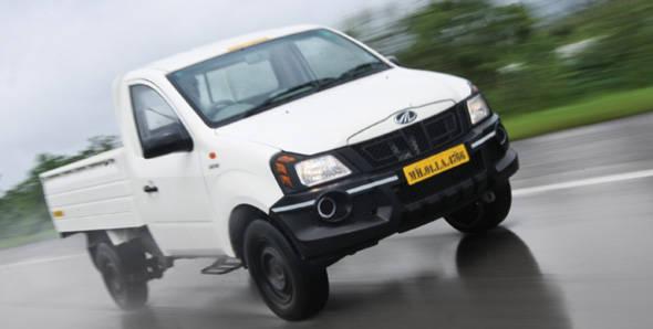 Mahindra Genio driven