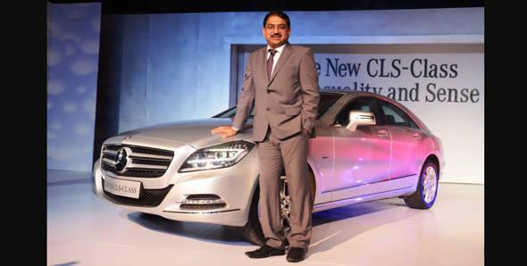 Mercedes-Benz launches CLS 350 BlueEfficiency