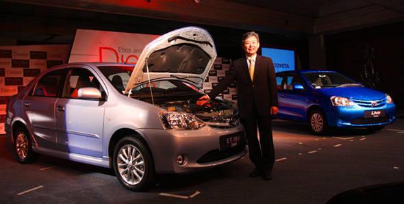 Toyota launches diesel Etios and Liva