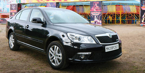 Skoda Laura vRS tested