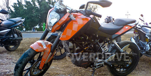 KTM Duke 200 launched in Malaysia