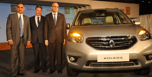 Renault launches the Koleos