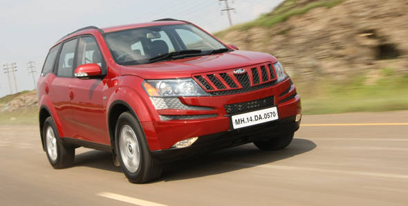 Mahindra XUV500 driven
