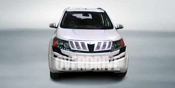 Mahindra XUV 500 unmasked