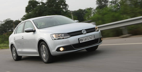 New Volkswagen Jetta driven