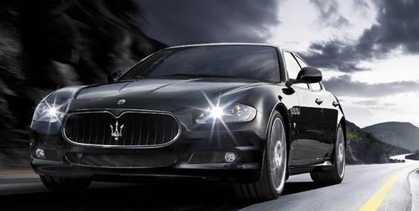 Maserati Quattroporte Sports GT S driven
