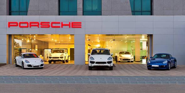 Porsche dealership opened in Ahmedabad