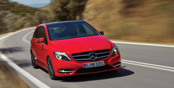 2012 Mercedes-Benz B-Class first drive