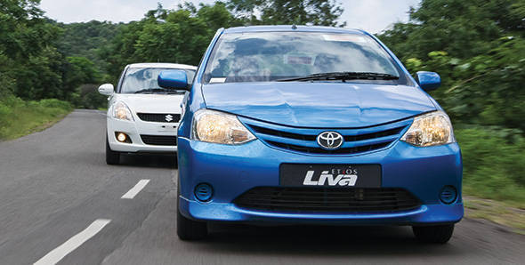 Etios Liva vs Swift
