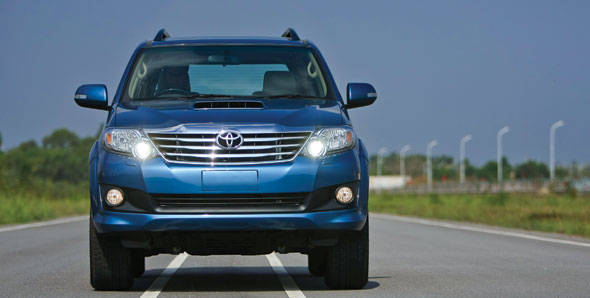 2012 Toyota Fortuner first drive
