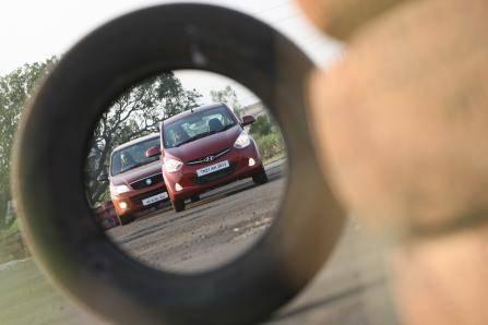 Hyundai Eon vs Maruti Alto K10