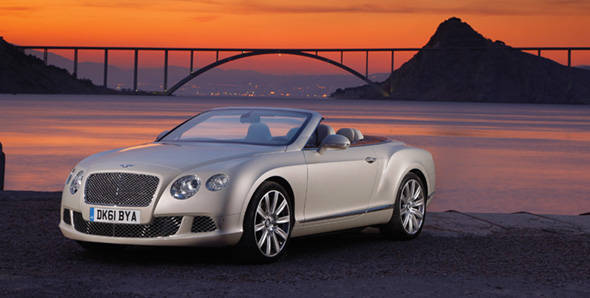 Bentley Continental GTC first drive